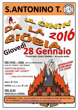 Ul Cinín da la Giöbia 2016