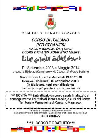 Corso italiano 2013