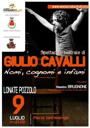Giulio Cavalli - 9 luglio 2011