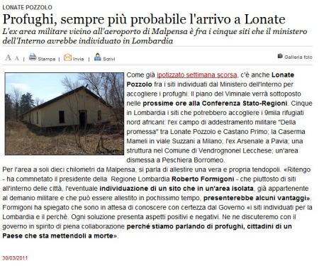 Varesenews del 30 marzo 2011