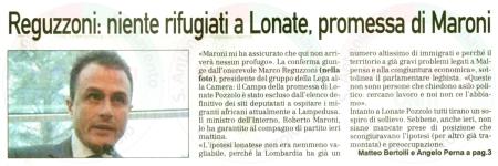 La Prealpina del 1° aprile 2011