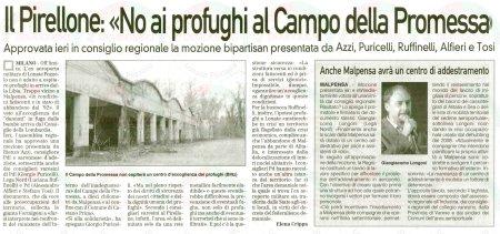 La Prealpina del 13 aprile 2011