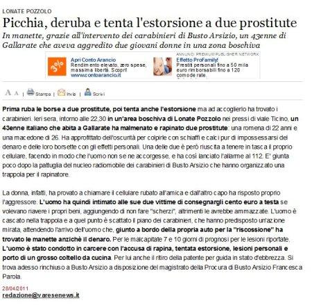 Varesenews del 28 aprile 2011