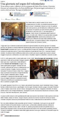 Varesenews del 7 maggio 2011