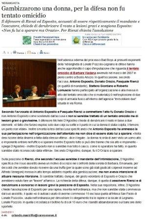 Varesenews del 24 maggio 2011