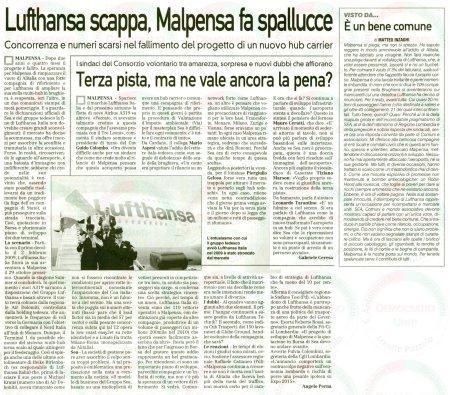 La Prealpina del 25 maggio 2011