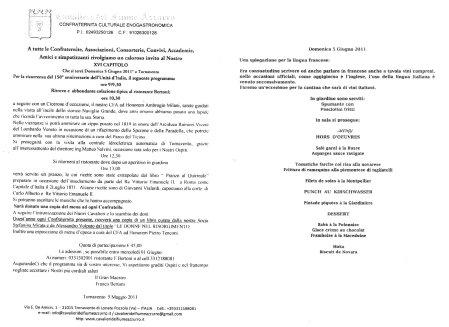XVI Capitolo Cavalieri Fiume Azzurro