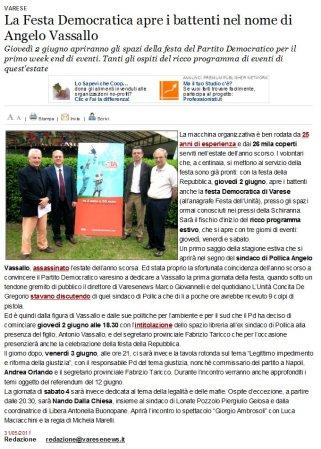 Varesenews del 31 maggio 2011