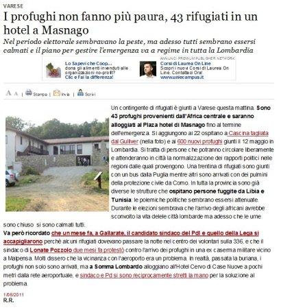 Varesenews del 1° giugno 2011