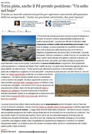 Varesenews del 8 giugno 2011