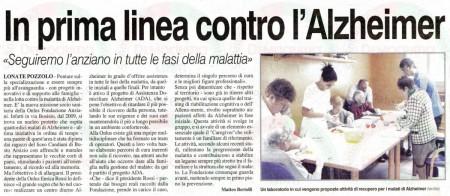 La Prealpina del 16 giugno 2011