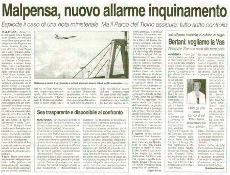 La Prealpina del 17 giugno 2011