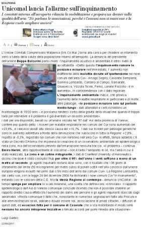 Varesenews del 22 giugno 2011
