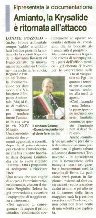 La Prealpina del 23 giugno 2011
