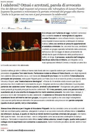 Varesenews del 28 giugno 2011