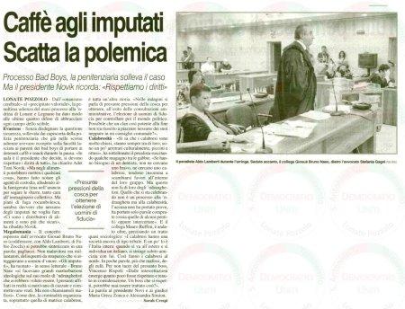 La Prealpina del 29 giugno 2011