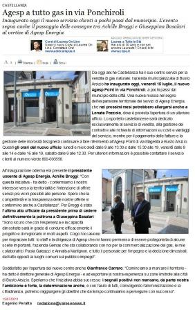 Varesenews del 15 luglio 2011
