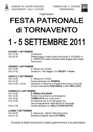 Festa Tornavento