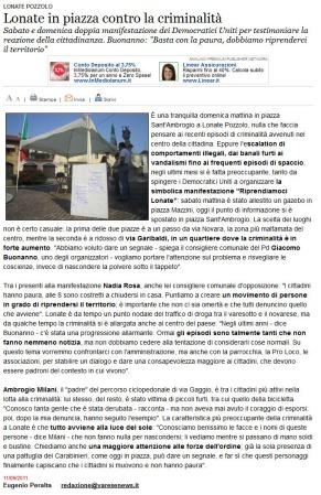 Varesenews del 11 settembre 2011