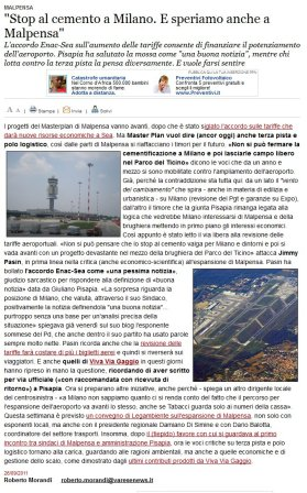 Varesenews del 26 settembre 2011