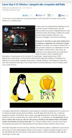 TuxJournal.net del 20 ottobre 2011