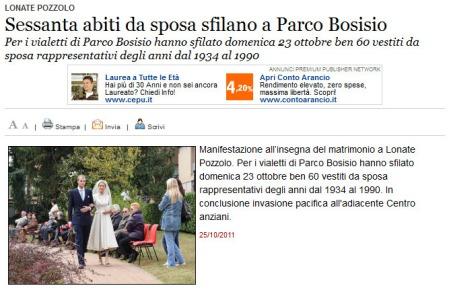 Varesenews del 25 ottobre 2011