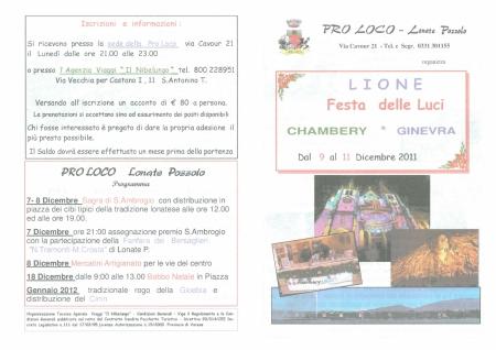 Pro Loco - Lione 2011