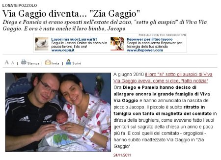 Varesenews del 24 novembre 2011