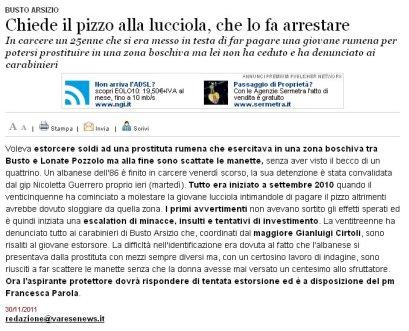 Varesenews del 30 novembre 2011
