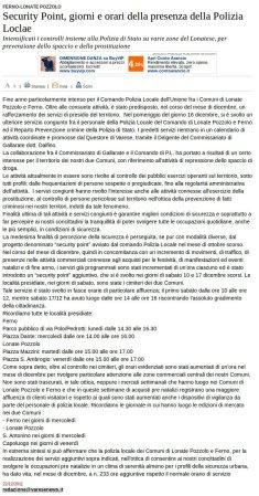 Varesenews del 22 dicembre 2011
