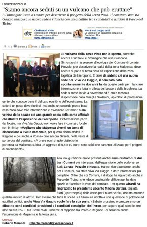 Varesenews del 5 febbraio 2012