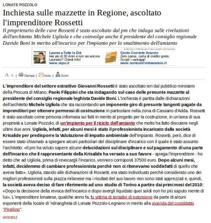 Varesenews del 9 marzo 2012