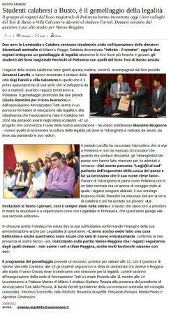 Varesenews del 23 marzo 2012