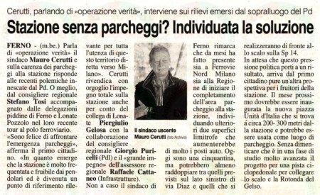 La Prealpina del 20 aprile 2012