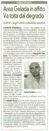 La Prealpina del 23 maggio 2012