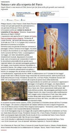 Varesenews del 24 maggio 2012