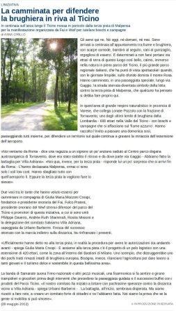 Repubblica Milano del 28 maggio 2012