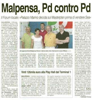La Prealpina del 6 luglio 2012