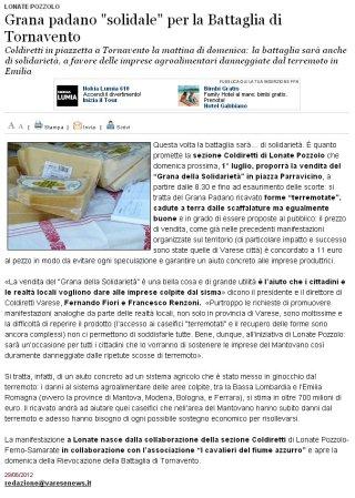 Varesenews del 29 giugno 2012