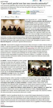 Varesenews del 11 ottobre 2012
