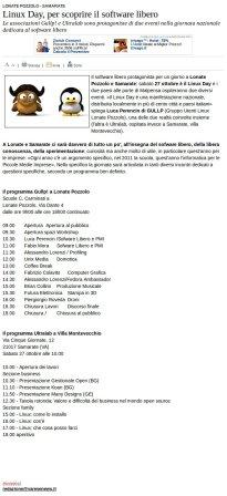 Varesenews del 25 ottobre 2012