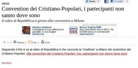 Varesenews del 3 dicembre 2012