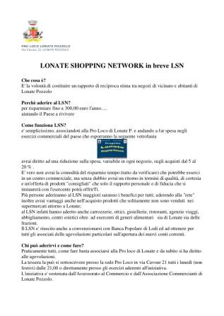 Lonate Shopping Network