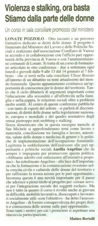 La Prealpina del 9 gennaio 2013
