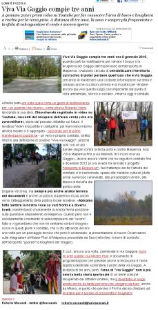 Varesenews del 30 gennaio 2013