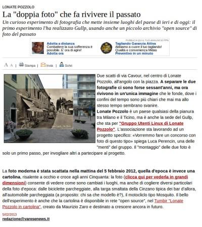 Varesenews del 5 febbraio 2013