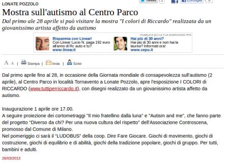 Varesenews del 26 marzo 2013