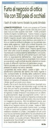 La Prealpina del 29 maggio 2013