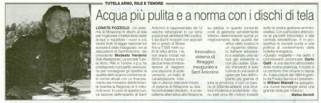 La Prealpina del 31 maggio 2013