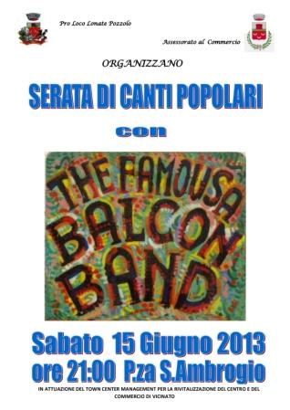 The famousa Balcon Band